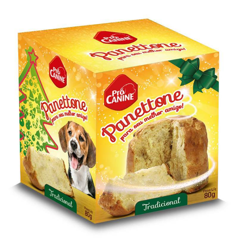 PANETTONE PARA CACHRRO PRO CANINE CARNE