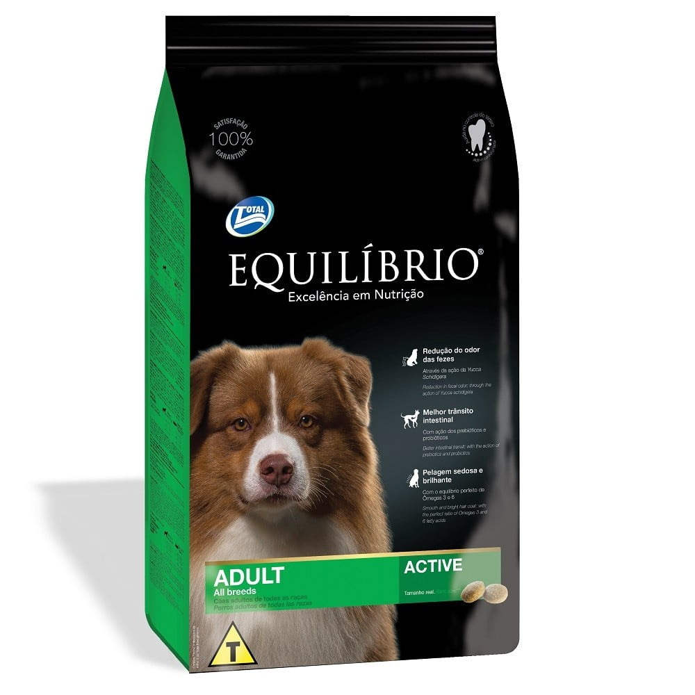 EQUILIBRIO ADULTO TODAS RAÇAS - ALL BREEDS ACTIVE