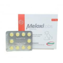ANTI INFLAMATÓRIO MELOXITABS 0,5 MG (BLISTER 10 COMPRIMIDOS)