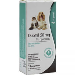 ANTIMICROBIANO (ANTIBIÓTICO) DUOTRILL (DUPRAT) 50 MG (BLISTER COM 10 COMPRIMIDOS)