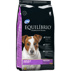 EQUILIBRIO ADULTO SMALL BREEDS (RAÇAS PEQUENAS) INDOOR